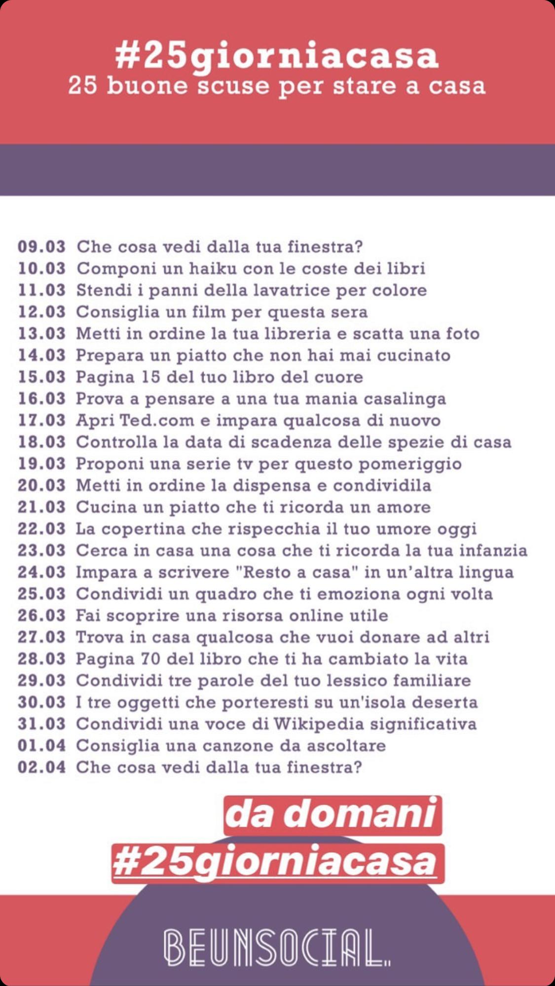 challenge #25giorniacasa alice avallone